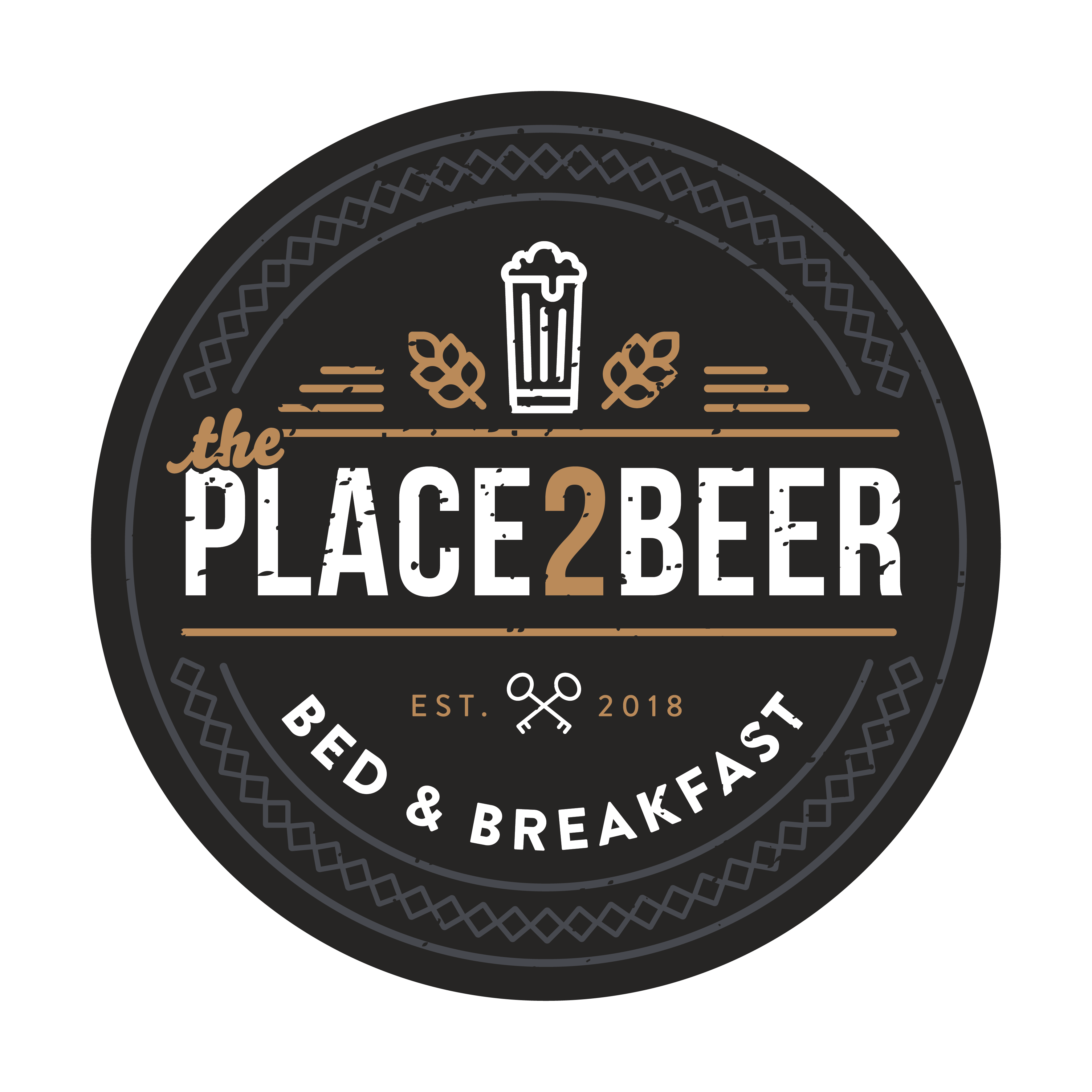Logo B&B The Place 2 Beer