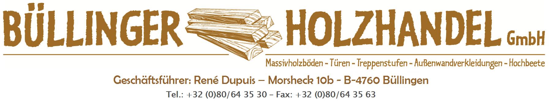 Logo Büllinger Holzhandel GmbH