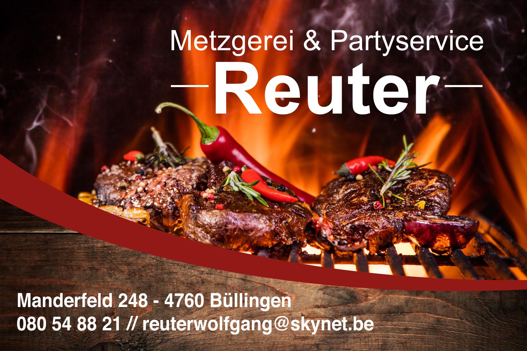 Logo Metzgerei Reuter