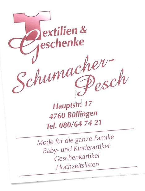 Logo Textilien, Geschenke & Spielwaren Schumacher-Pesch